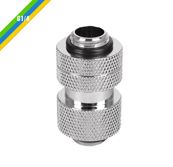Pacific G1/4 Adjustable Fitting (30-40mm) – Chrome