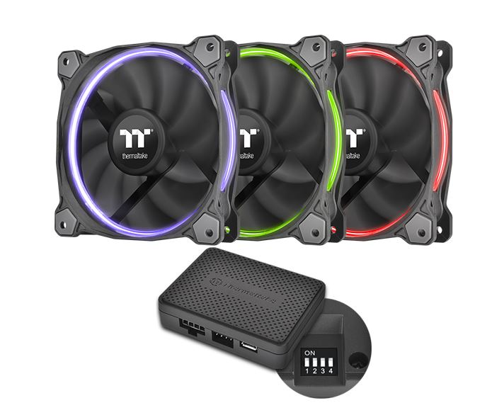 Riing 14 LED RGB TT Premium Edition 3-Fan Pack