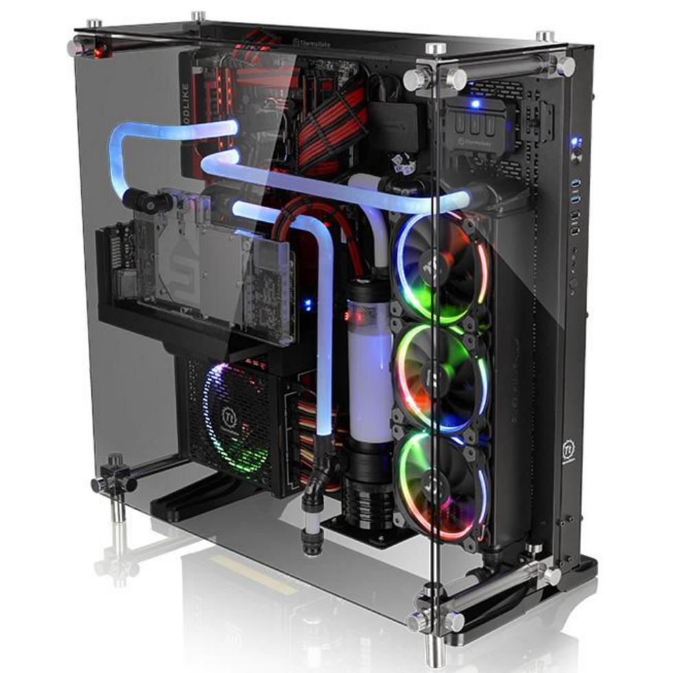Core P5 Black Tempered Glass Edition Ttpremium