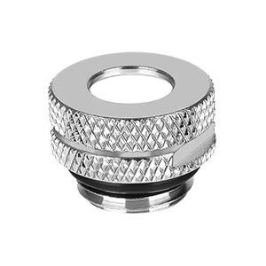 Pacific G1/4 Pressure Equalizer Stop Plug w/ O-Ring - Chrome