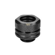 Pacific G1/4 PETG Tube 12mm OD Compression – Black
