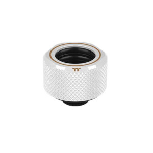 Thermaltake Pacific C-PRO G1/4 PETG Tube 16mm OD Compression – White