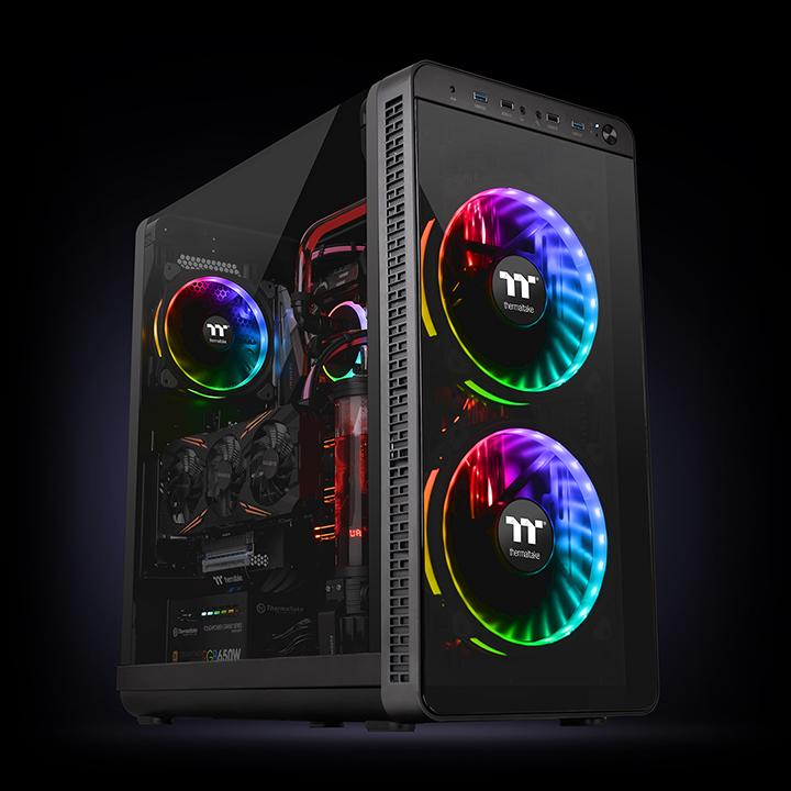 Riing Plus 20 Rgb Case Fan Tt Premium Edition Single Fan