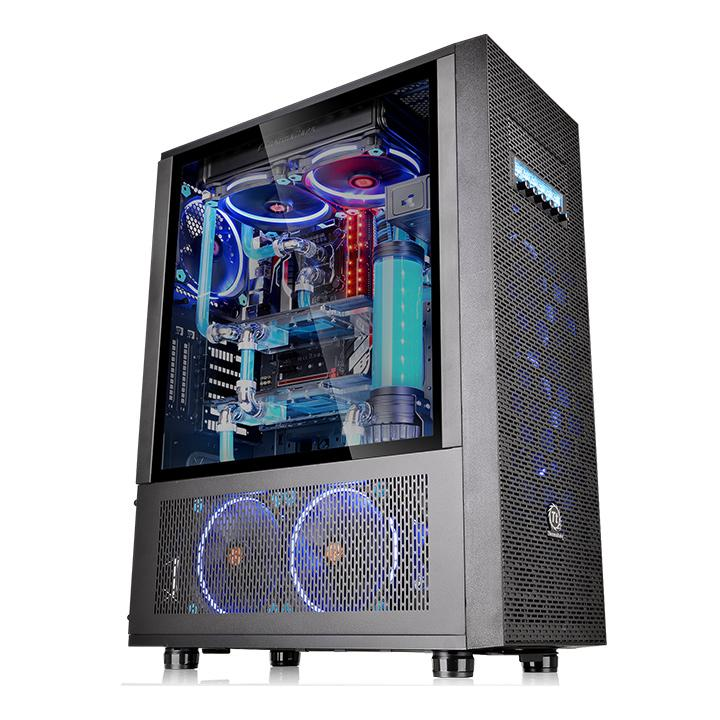 Core X71 Tempered Glass Edition Full Tower Chassis Ttpremium