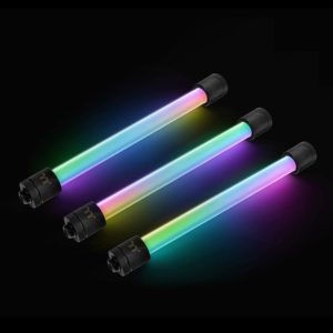 Pacific RGB Plus TT Premium Edition G1/4 PETG Tube 16mm OD 12mm ID Fitting (6-Pack Fittings)