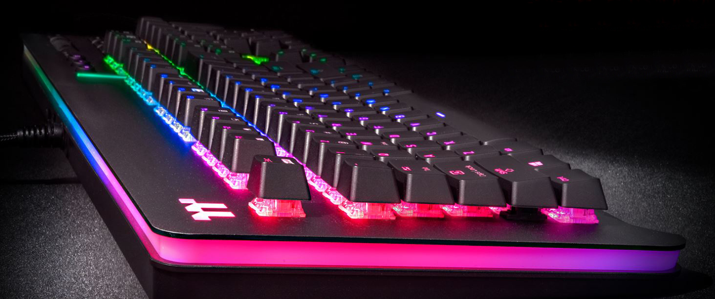 Level 20 RGB Cherry MX Speed Silver gaming keyboard