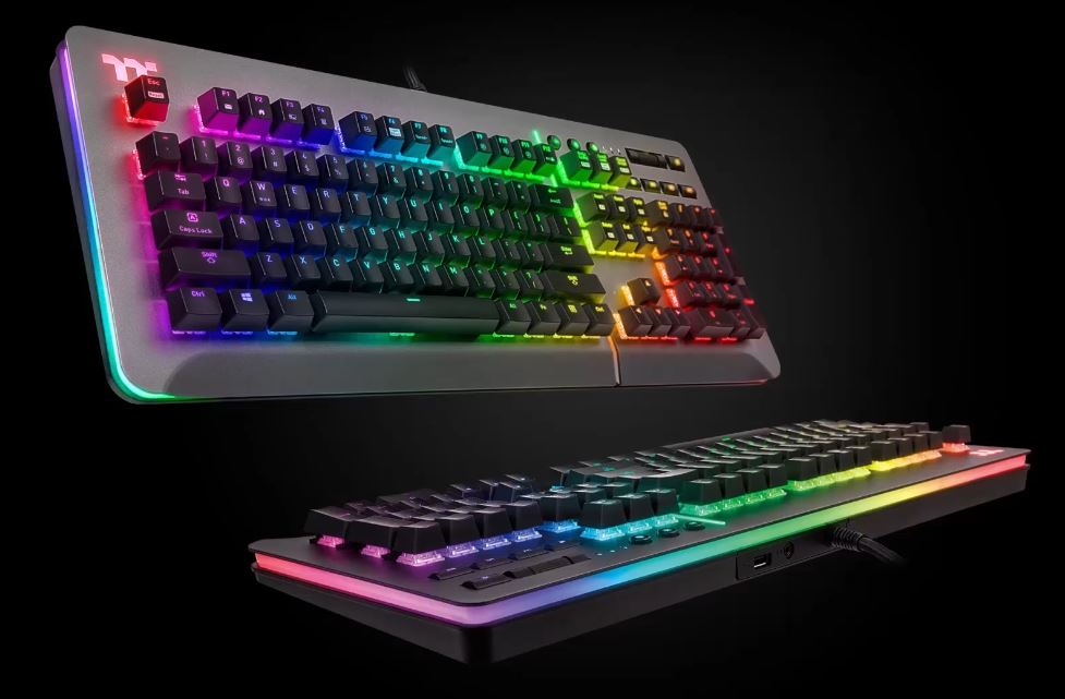 Level 20 RGB Titanium Gaming Keyboard (Blue Switch)