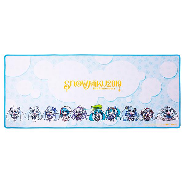 DASHER EXTENDED SNOW MIKU EDITION Gaming Mouse Pad