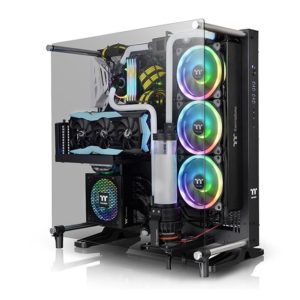 Core P5 Tempered Glass V2 Black Edition ATX Wall-Mount Chassis